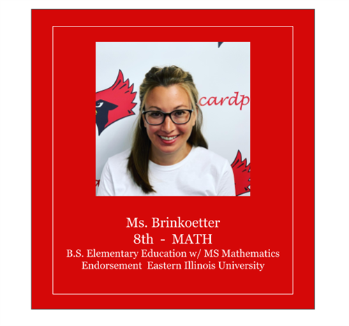 Meet Ms. Brinkoetter