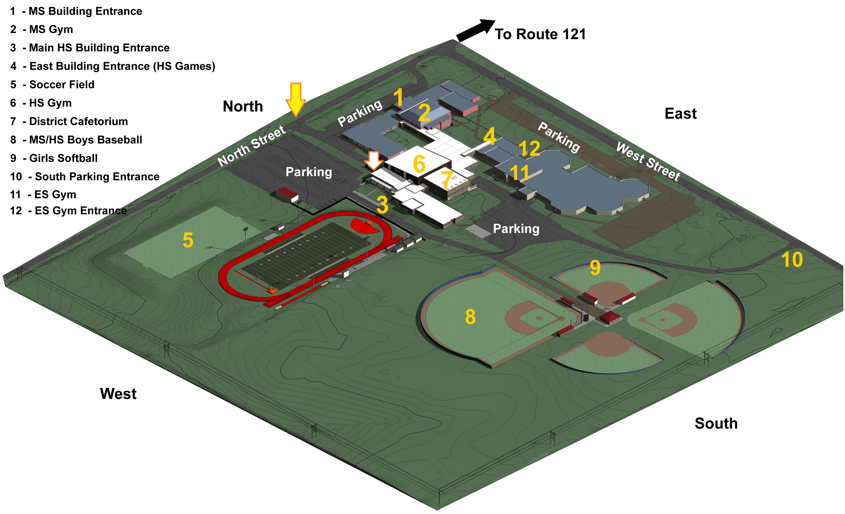 map of WL facilities